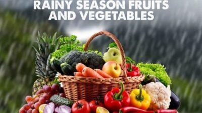 पावसाळ्यात फळ व भाजीपाले पासून होणारे फायदे